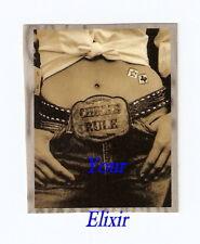 Dixie Chicks Chicks Rule Buckle Belly B&W Case Sticker