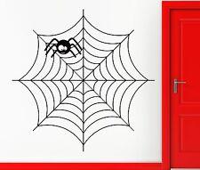 Wall Sticker Vinyl Decal Spider Web Net Funny Decor Cool Decor (z2421)