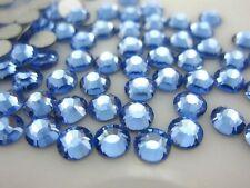 Light Blue --  Resin Flatback Rhinestones High Quality 2 3 4 5 6 mm choose size