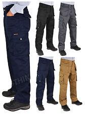 MEN's qualità tuff-stuff Workwear KNEEPAD Lavoro Pantaloni / combattere 30-44 Gamba 30,32.5