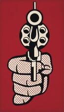 63565 Roy Lichtenstein Pistol Giclee Wall Print Poster CA
