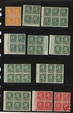 Canada162//174  Block of 4  booket pane Mint  LOT  READ