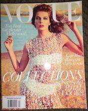 Vogue Paris 2/2010 Daria Werbowy Anja Rubik Naomi Campbell Lara Stone Kate Moss