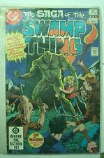DC THE SAGA OF THE SWAMP THING N. 1 VF/NM 1982