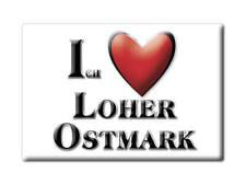 DEUTSCHLAND SOUVENIR - NIEDERSACHSEN MAGNET LOHER OSTMARK (CLOPPENBURG)