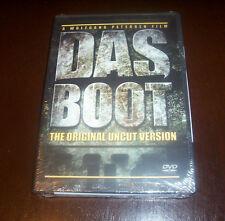 DAS BOOT The Director's Cut Uncut German U-Boat U-Boats Nazi Germany DVD Set NEW