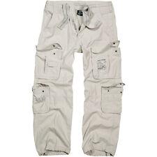 Brandit Hombres Clásico Puro Vintage Combate Pantalones De Desplazamientos Panta