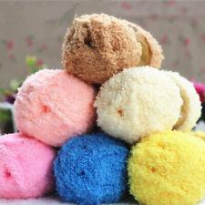 DIY Acrylic Coral Baby Mink Cashmere Wool Knitting Sweater Scarf Crochet Yarn l