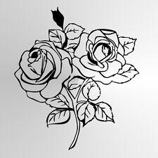 BIG ROSE BOUQUET riutilizzabile Stencil A3 A4 A5 Art Romantico Shabby Chic Craft ROSE 2