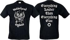 Motorhead England Lemmy Kilmister Rock Metal offiziell Herren T-Shirt