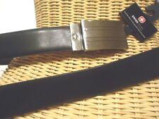 Swiss Army Logo Reverse Genuine Leather Belt Style SG7018