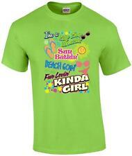 Flip Flop Wearin' Sun Bathin' Beach Goin' Kinda Girl T-Shirt