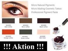 PERMANENTE Maquillaje color pigmentierfarbe Microblading - A ELEGIR - Acción