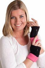OCTAVE® Ladies Fingerless Wrist Gloves Multicolour Black/Pink or Blue/Purple