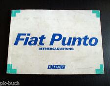 Betriebsanleitung Fiat Punto Stand 1997