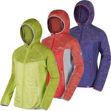 Regatta 2018 Ladies Rocknell Hooded Hybrid Marl Fleece Jacket