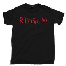 THE SHINING T Shirt REDRUM Stanley Kubrick Room 237 Horror Movie Tee Blu Ray DVD