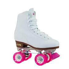 Chicago Women's Classic Roller Skates – White Rink Skates - Size 8