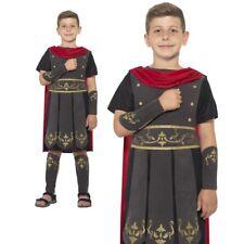 Child Roman Soldier Costume Teen Gladiator Warrior Book Day Fancy Dress New