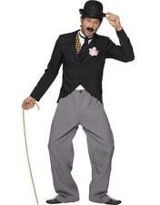 anni '20 '20 Costume FILM STAR CHAPLIN Stan Laurel Nuovo Da Smiffys