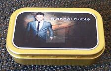 Michael Bublé 1 and 2oz Tobacco/Storage Tins