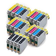 E-711 e-712 e-713 e-714 x4 set di cartucce di inchiostro compatibile con 4 Extra Neri