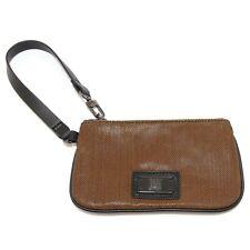 3053U mini pochette donna portatessere GEOX brown mini handbag woman