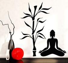 Wandtattoo Yoga Lotus Budha  Palme ohm Wandsticker Sticker Wandaufkleber