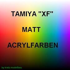 Tamiya Acryl Farbe Matt  XF1 bis XF71 ohne XF 32 jeweils 23ml 1Stück