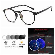 ea53c9b02e8 Multifocal Progressive Photochromic Women s Retro Flower Vintage Reading  Glasses