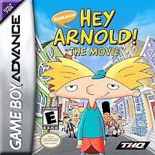 Hey Arnold The Movie (Nintendo Game Boy Advance, 2002) GBA NEW
