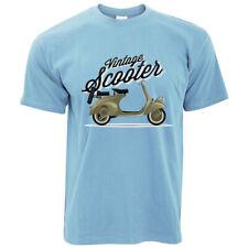 Vintage Scooter T-shirt 100% cotton scooter mods lambretta vespa scootering