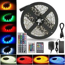 20M 15M 10M 5M 300 LEDs 3528 5050 RGB LED Strip Light Flexible 12V Waterproof