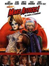 DVD - Mars Attacks - J.NICHOLSON M.J.FOX G.CLOSE S.J.PARKER - RARO INTROVABILE