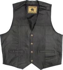 Biker cuir Moto veste gilet avec impression tu boutonnais, vest En Cuir Blouson, prix raisonnable