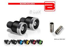 BARRACUDA CONTRAPPESI ERGAL BLUX + ADATTATORI BMW G 650 Xmoto HP2 Enduro