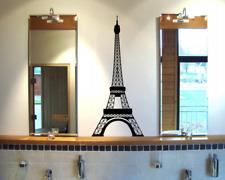 Wandtattoo Eiffelturm Paris Wandaufkleber XXXL  25 Farben 10 Größen