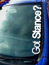 Got position?s à Grand Pare-Brise personnalisé CAR Autocollants bas Scène euro