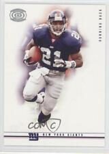 2001 Pacific Dynagon Retail Silver #60 Tiki Barber New York Giants Football Card