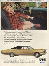 1967 Ford LTD - 2-door Hardtop - Classic 10x13 Vintage Advertisement Ad LG16