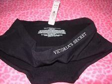 Victoria's Secret VS Hiphugger Panties STRETCHY Panty Black  SMALL  MED NWT