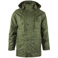 MIL-Tec Parka Dubon Hommes Matelassé Militaire Veste Manteau à Capuchon Olive