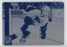 2006 Upper Deck Printing Plate Cyan #166 Jonathan Cheechoo San Jose Sharks Card