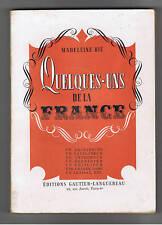 QUELQUES UNS DE LA FRANCE M.BIE GAUTIER LANGUEREAU 1943