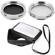 30mm 16:9 Wide Lens Hood,Filters for Sony Handycam DVD108,DVD308,DVD403,DVD405