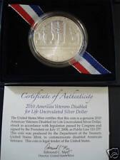 2010 American Veterans Disabled for Life Uncir. (AV2)