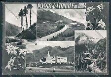 Sondrio Passo del Tonale foto cartolina C0084 SZG