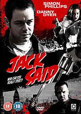 Jack Said [DVD], Very Good DVD, Ashlie Walker, Jimmy White, David O'Hara, Terry