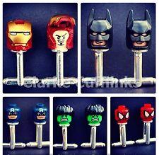 LEGO Superhéroes De Marvel Gemelos Ironman Batman Spiderman Boda Hombre Novio