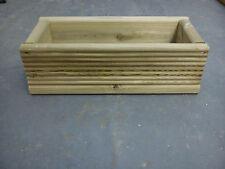 Wooden Decking Planter